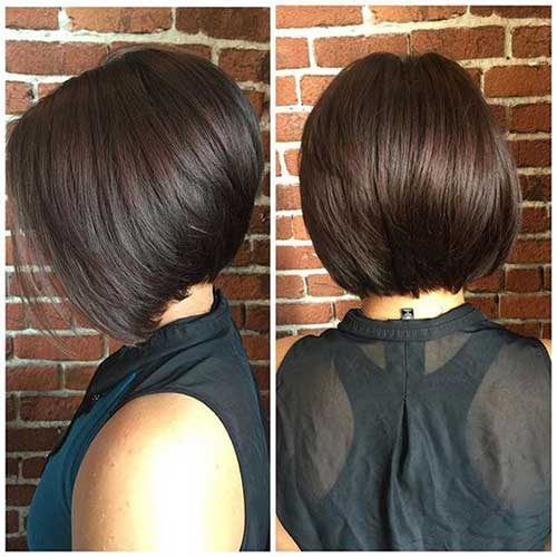 Best Short Stacked Bob