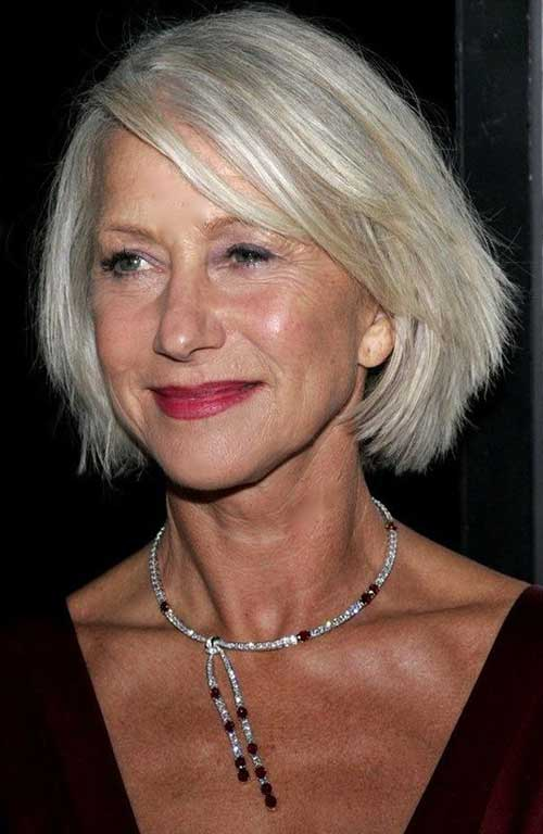 Best Bob Hairstyles For Older Women Short Hairstyles