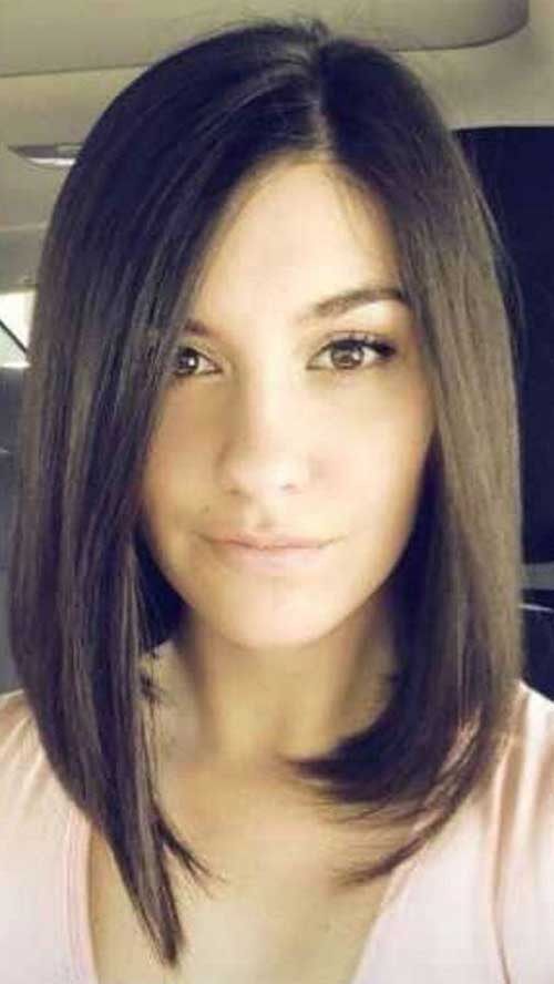 Fine 20 Brunette Bob Haircuts Short Hairstyles 2016 2017 Most Hairstyles For Women Draintrainus