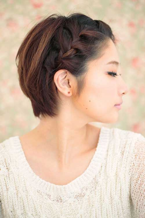 Hairstyles for Short Hair Girls-7
