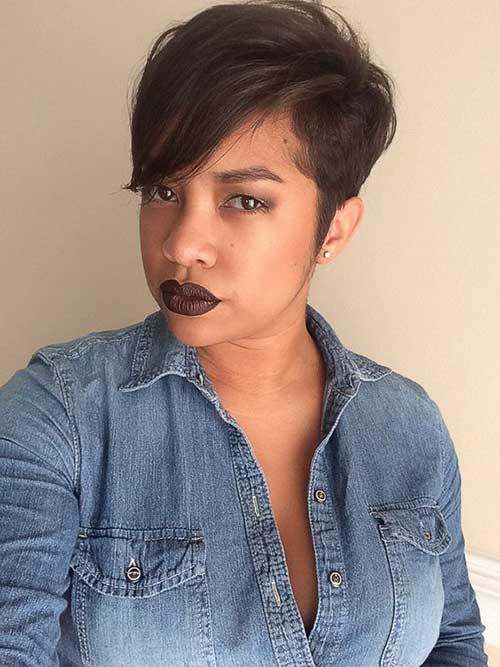 Pixie Cut for Black Women-8