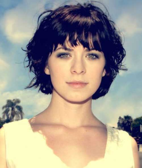 Short Haircuts for Curly Wavy Hair-8
