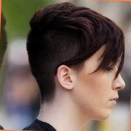 15 Short Haircuts for Thick Straight Hair | Short ...