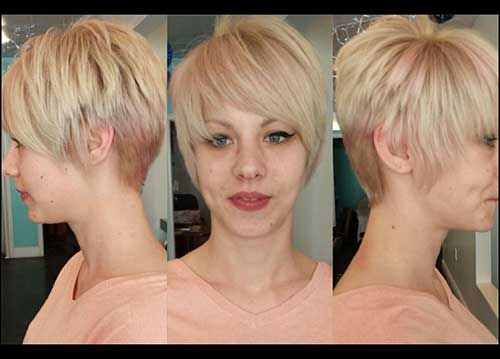 Textured Short Haircut