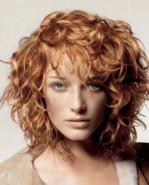 Bob Hair for Frizzy Curly Copper Color Ideas