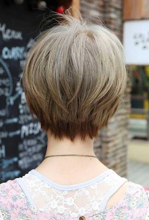 Bob Hairstyles Short Hair Back View