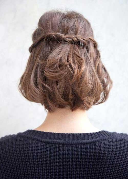 Braid Hairstyles for Short Hair