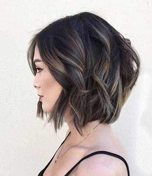 Hairstyles 2017 Brunette : 20 Brunette Bob Haircuts Short Hairstyles 2016 - 2017 Most Popular ...