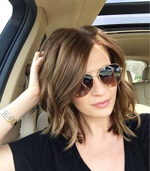 20 brunette bob haircuts short hairstyles 2016 2017 most brunette bob haircuts urmus Choice Image