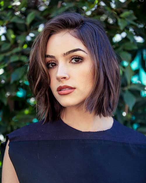20 Brunette Bob Haircuts | Short Hairstyles 2017 - 2018 | Most ...