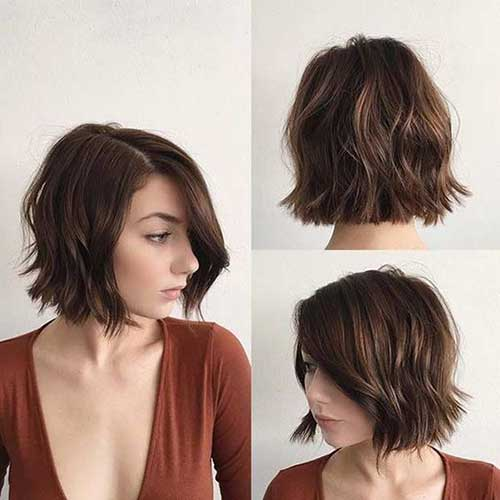 20 Brunette Bob Haircuts Short Hairstyles 2016 2017