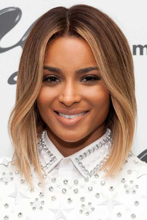 Chic Short Light Brown Hair Color
