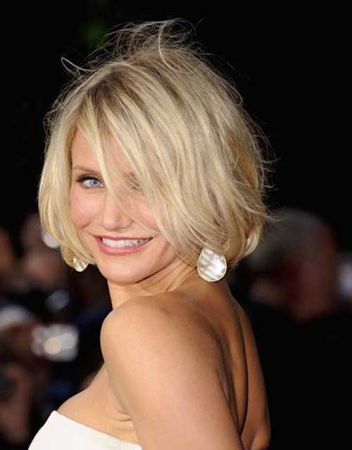 Choppy Bob Haircuts for Thin Hairstyles