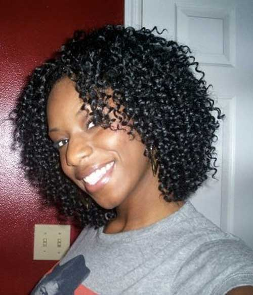 Curly Short Weave Dark Hairstyles