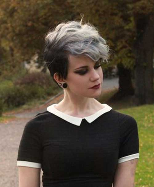 Cute Emo Hairstyles for Short Pixie Hair
