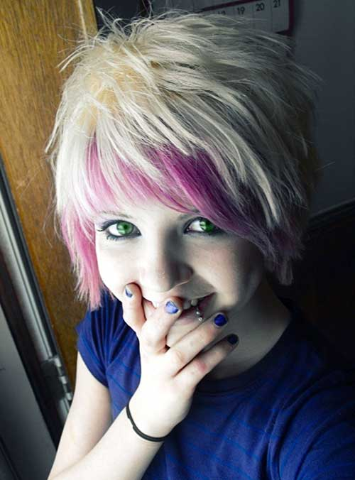 Cute Short Emo Hairstyles Bangs