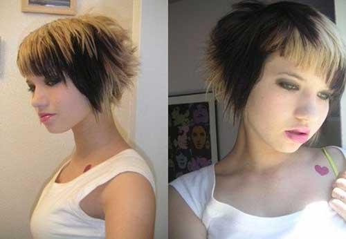 Cute Short Emo Layered Hair Cuts