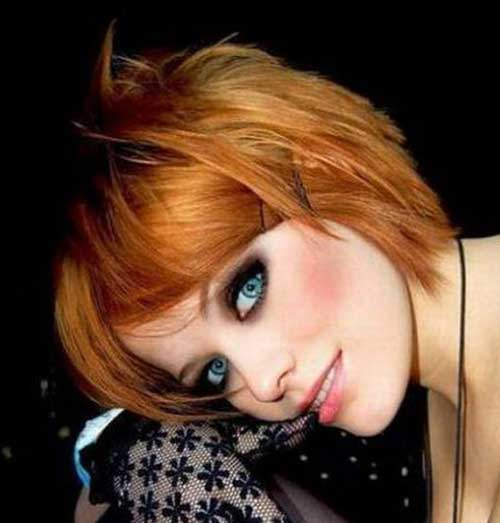 Cute Short Emo Layered Hairstyles