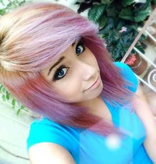 Cute Short Emo Layered Hairdo Ideas
