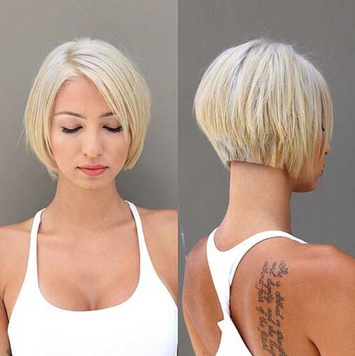 Female Short Bob Haircut