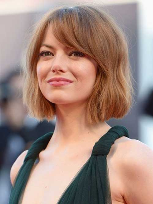 Female Short Haircuts for Wavy Hair