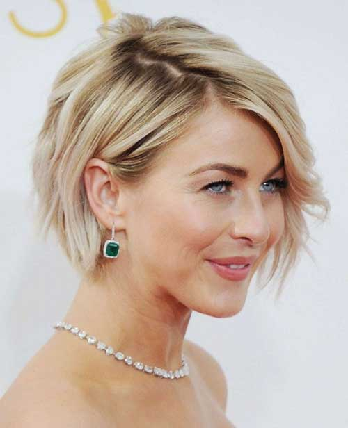 Female Short Wavy Bob Haircut