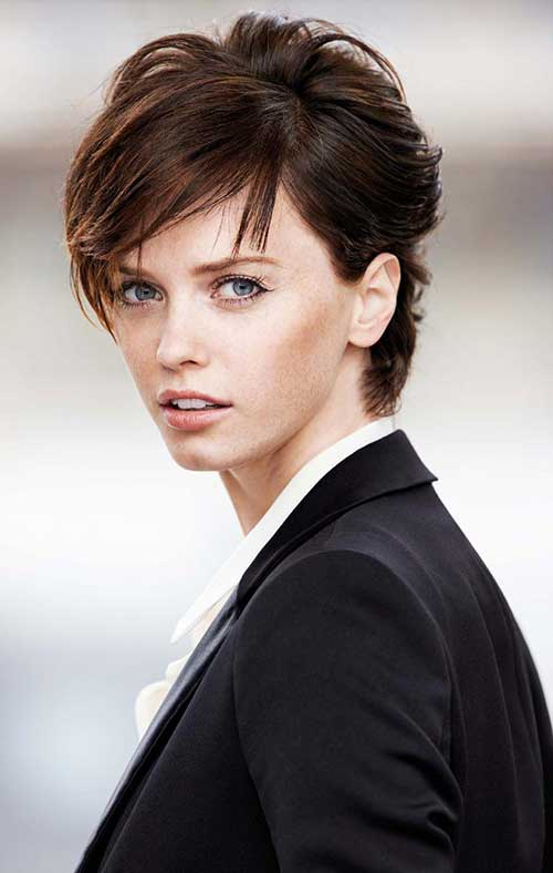Female Short Wavy Haircuts