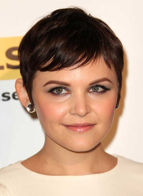 Ginnifer Goodwin Cute Pixie Cuts