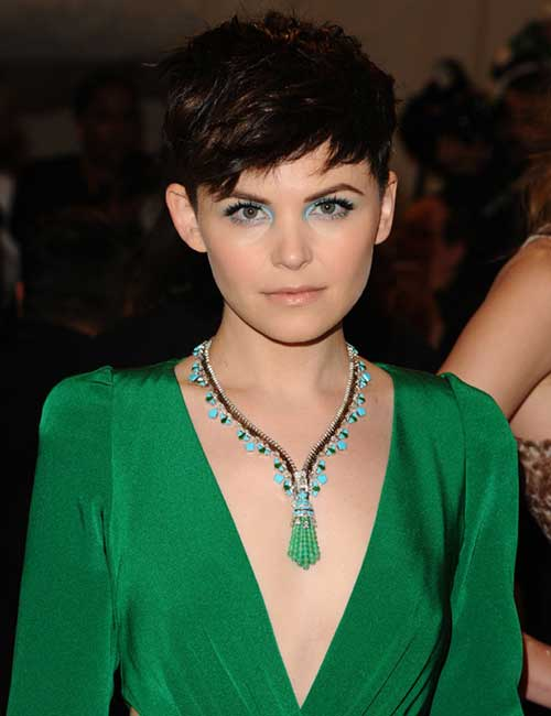 Ginnifer Goodwin Pixie Hairstyles 2014