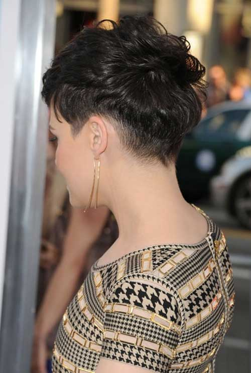 Ginnifer Goodwin Pixie Back View
