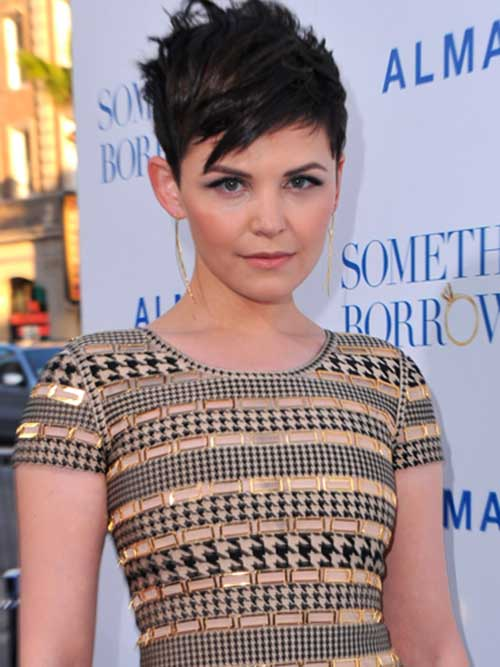 Ginnifer Goodwin Pixie Cut Hairstyles