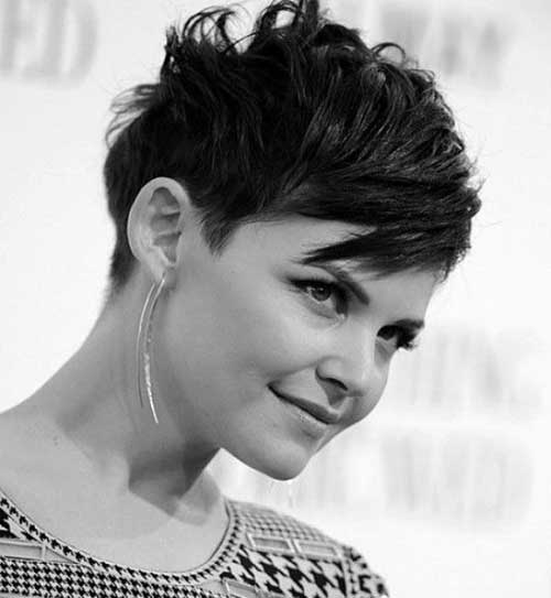 Ginnifer Goodwin Messy Pixie Hairstyle