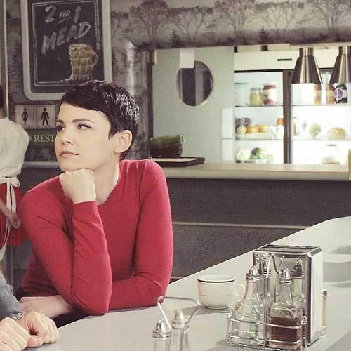 Ginnifer Goodwin Short Cut Pixie Hair