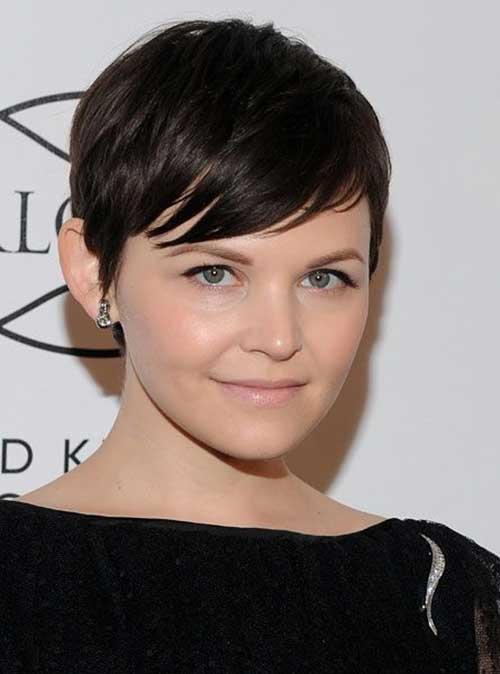 Ginnifer Goodwin Straight Pixie Hair