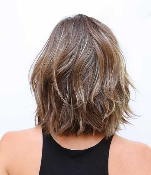 Hairstyles for Short Shoulder Length Hair Back