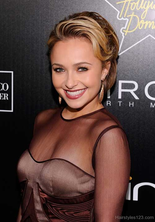 Hayden Panettiere Short Bob Cut