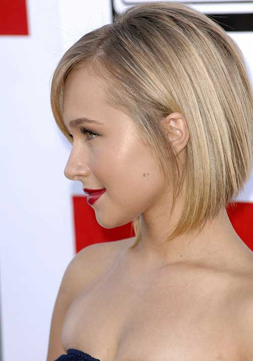 Hayden Panettiere Straight Fine Bob Hair