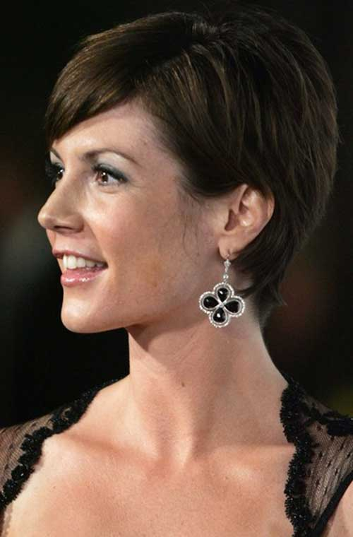 Images Short Dark Hairstyles