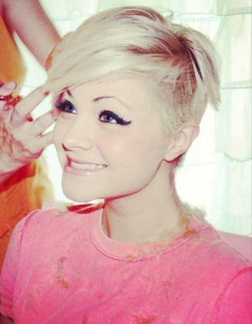 Images for Blonde Pixie Haircuts