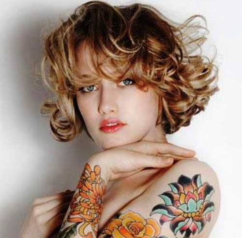 Images for Curly Pixie Hair Cuts