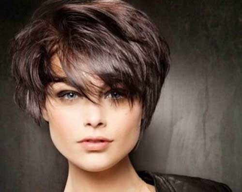 Images for Short Dark Straight Haircuts