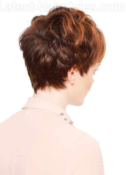 Images for Straight Pixie Cut Back View