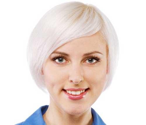 Layered Bangs Short Haircuts for Thin Hair Styles