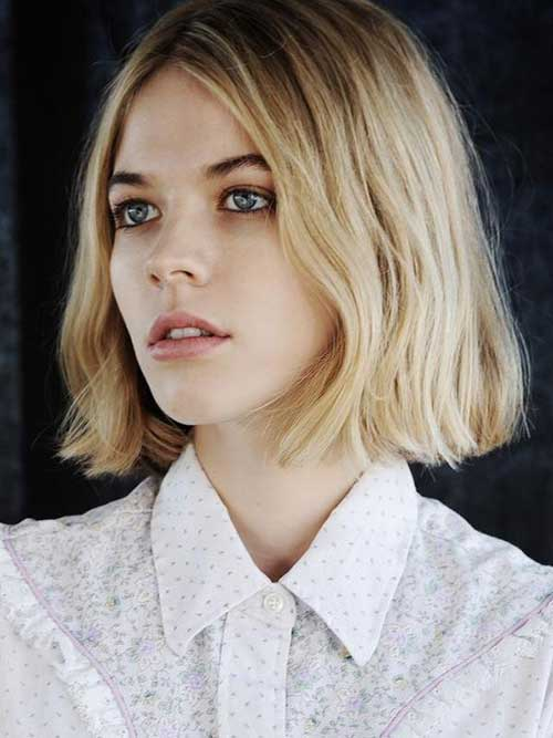 Line Bob Cut for Short Hairstyles