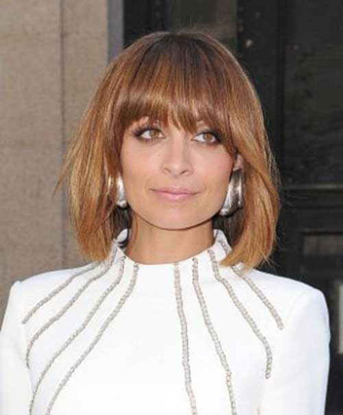 Nicole Richie Bob with Bangs Pictures