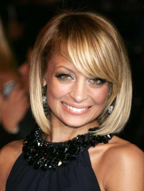 Nicole Richie Fine Bob Haircuts