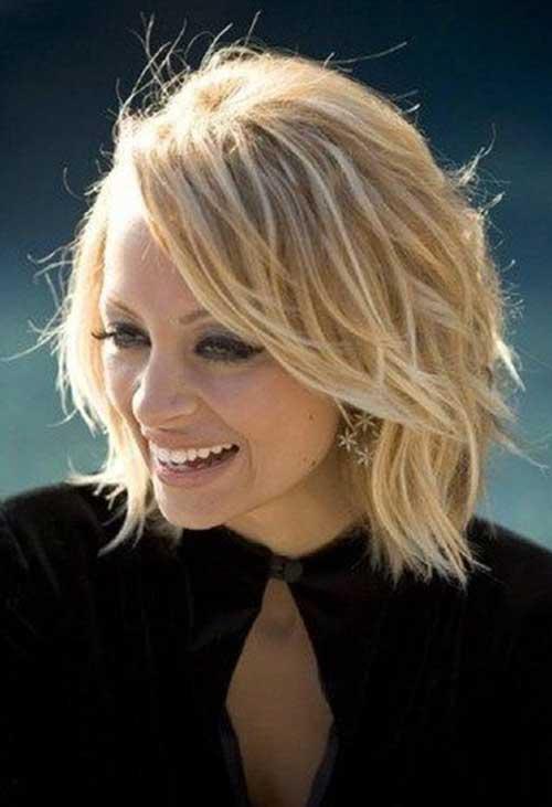 Nicole Richie Modern Bob Hair