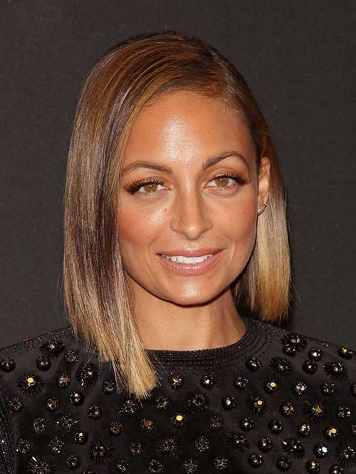 Nicole Richie Straight Bob Hair
