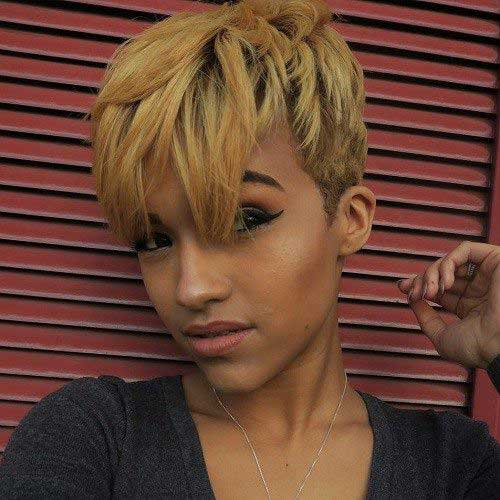 Pixie Cuts for Black Women