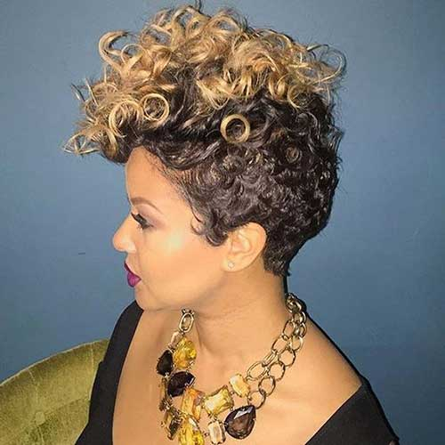 Pixie Cut on Black Women